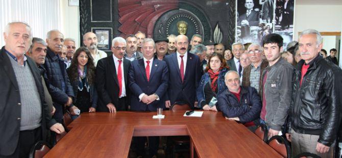 CHP Trabzon milletvekili HALUK PEKŞEN Akçaabat'ta…