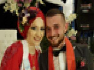 Melda-Mustafa Çiftine Rüya Gibi Nişan Töreni