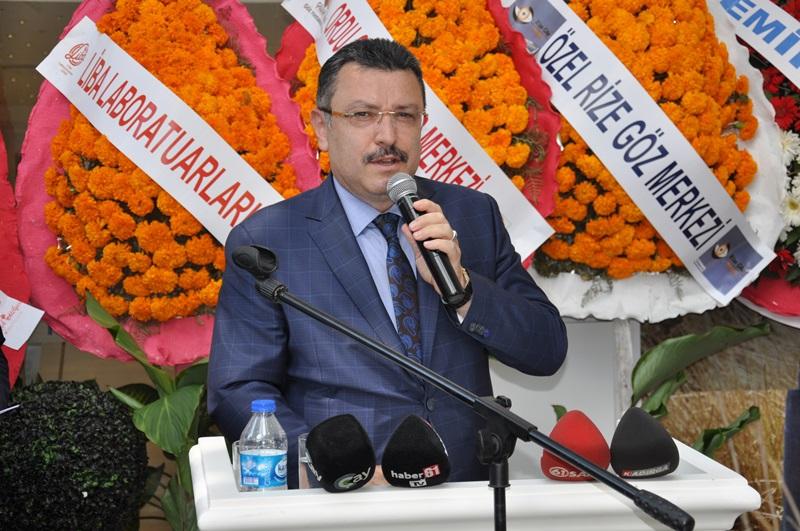 Beş Yıldızlı Kuzey Göz Hastalıkları Merkezi Trabzon'da Açıldı galerisi resim 122