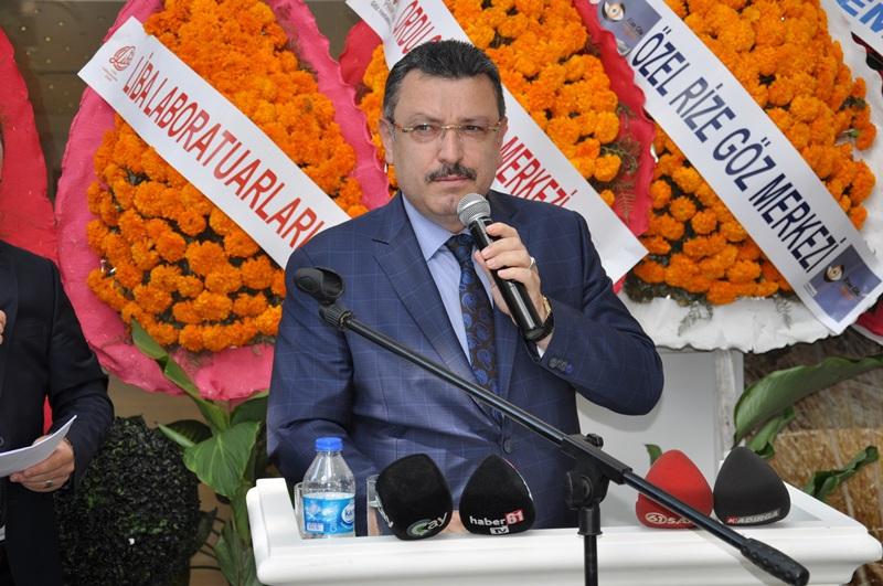 Beş Yıldızlı Kuzey Göz Hastalıkları Merkezi Trabzon'da Açıldı galerisi resim 123