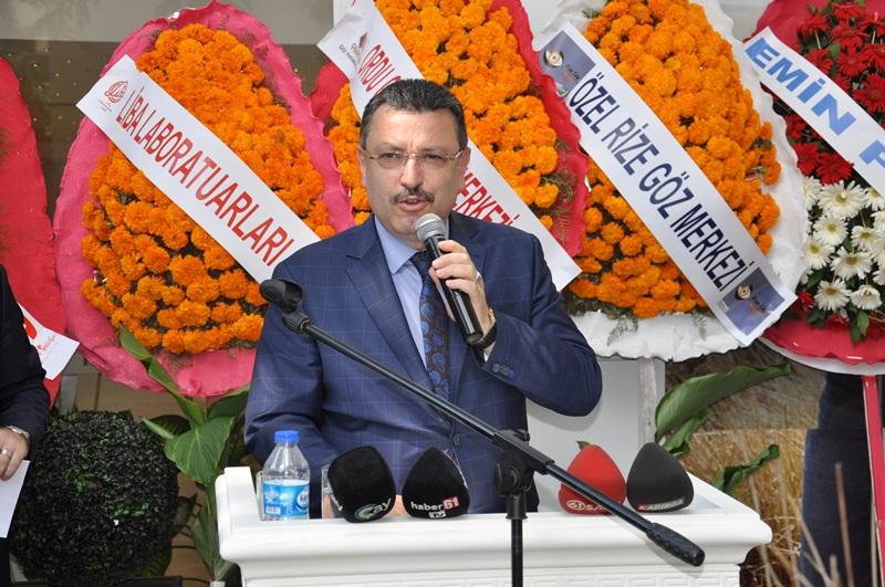 Beş Yıldızlı Kuzey Göz Hastalıkları Merkezi Trabzon'da Açıldı galerisi resim 125