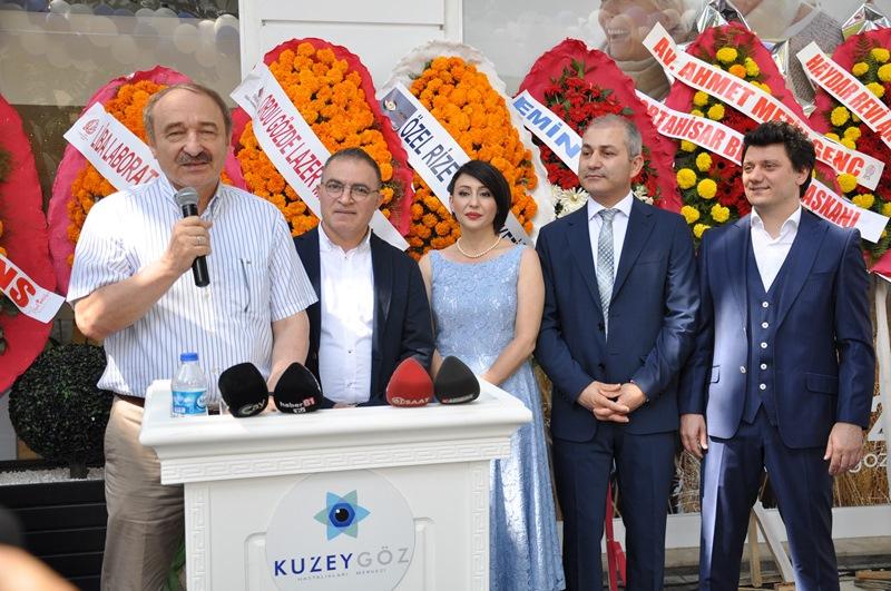 Beş Yıldızlı Kuzey Göz Hastalıkları Merkezi Trabzon'da Açıldı galerisi resim 138