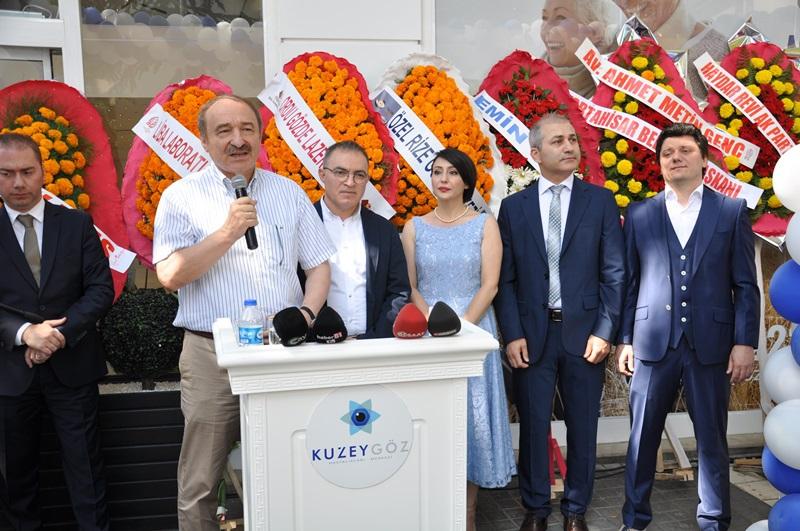 Beş Yıldızlı Kuzey Göz Hastalıkları Merkezi Trabzon'da Açıldı galerisi resim 139