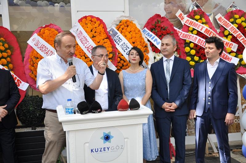 Beş Yıldızlı Kuzey Göz Hastalıkları Merkezi Trabzon'da Açıldı galerisi resim 140