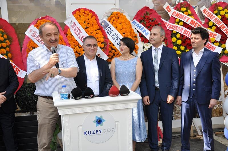 Beş Yıldızlı Kuzey Göz Hastalıkları Merkezi Trabzon'da Açıldı galerisi resim 141