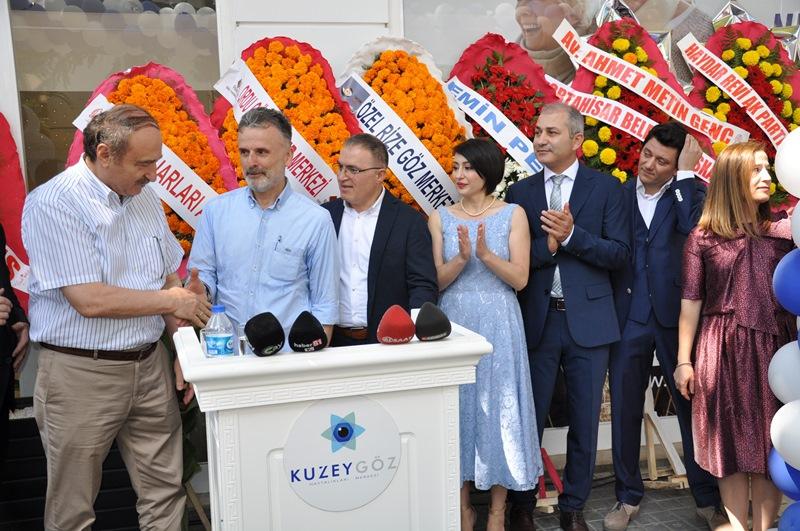 Beş Yıldızlı Kuzey Göz Hastalıkları Merkezi Trabzon'da Açıldı galerisi resim 149