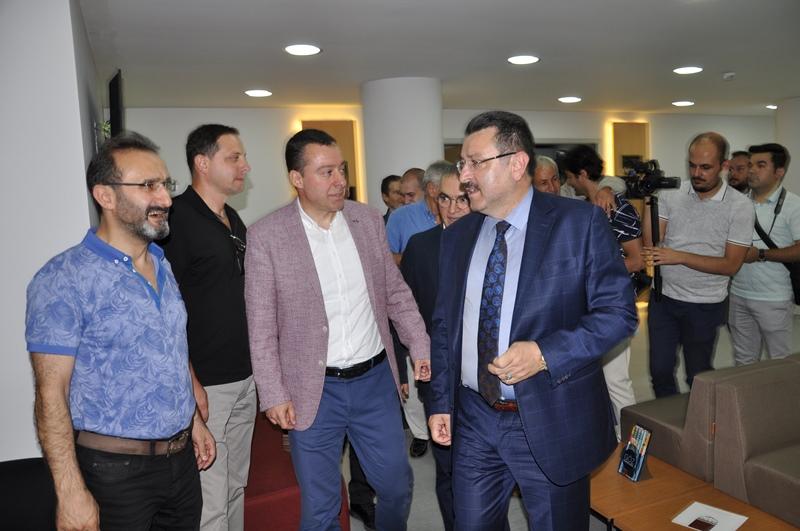 Beş Yıldızlı Kuzey Göz Hastalıkları Merkezi Trabzon'da Açıldı galerisi resim 169