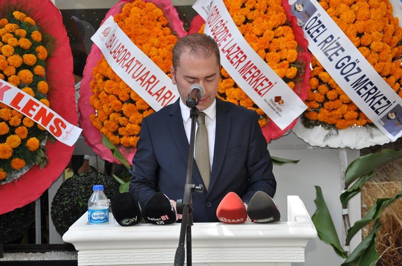 Beş Yıldızlı Kuzey Göz Hastalıkları Merkezi Trabzon'da Açıldı galerisi resim 70