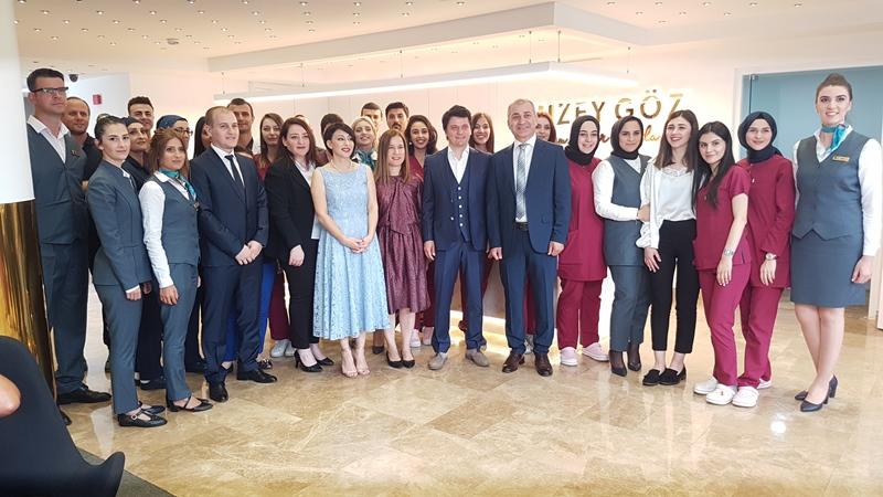 Beş Yıldızlı Kuzey Göz Hastalıkları Merkezi Trabzon'da Açıldı galerisi resim 9
