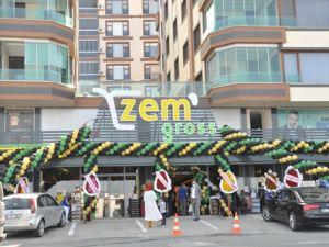 Zem Gross Market'in Açılışı Yapıldı