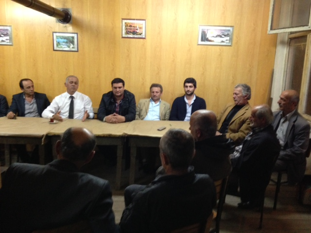 MHP Belediye Başkan Adayı Akçaabat'ı Karış Karış Dolaşıyor.