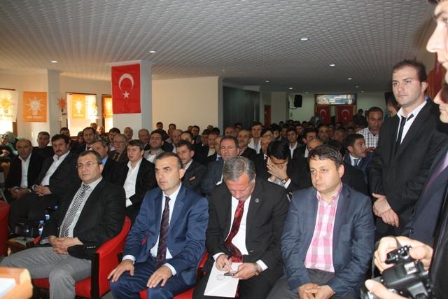 Akçaabat Ak Parti Trabzon Belediye Başkanını Ağırladı.