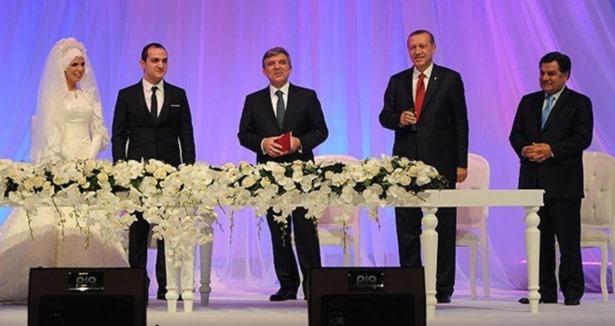 Bakan Erdoğan Bayraktar Oğlunu Evlendirdi.
