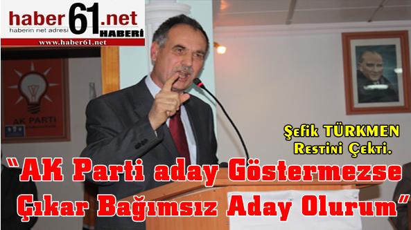 Şefik Türkmen Restini Çekti.