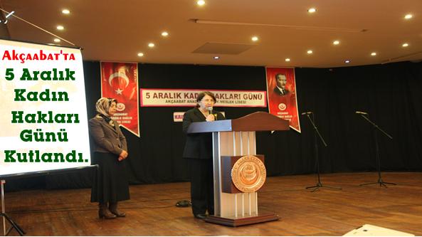 Programı,Akçaabat Anadolu Sağlık Meslek Lisesi Sundu.