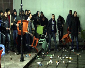 KTÜ'de Arbede: 2 Yaralı!
