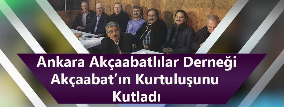 Başkent Ankara'da Akçaabat'ın Kurtuluşu Dualarla Kutlandı.