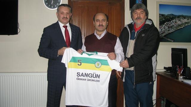 Tütünspor'dan Müdürlere Teşekkür Ziyareti