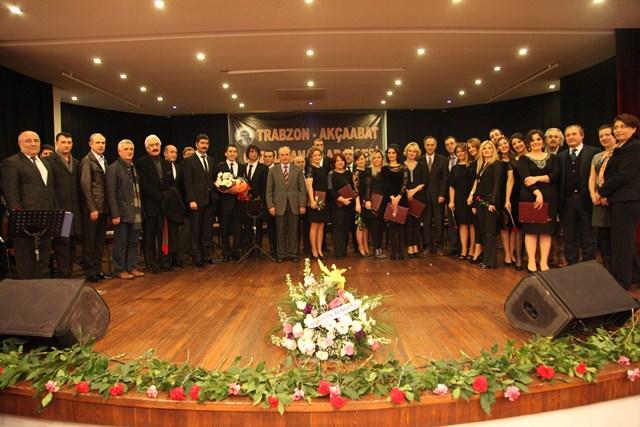 Akçaabat Güzel Sanatlar Lisesi Öğretmenlerinden Türk Sanat Müziği Konseri
