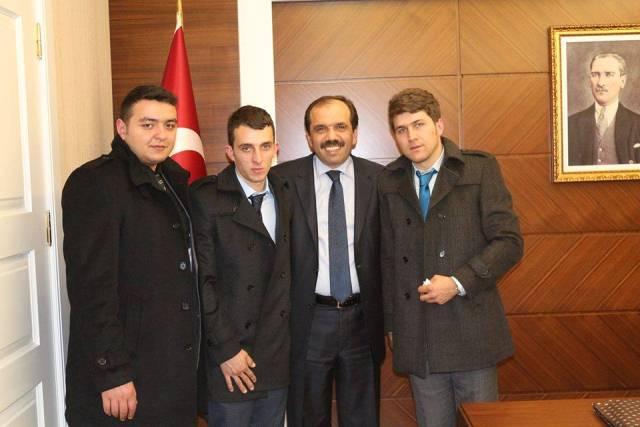 Akçaabat Ak Gençlik Ankara'da Ziyaretlerde Bulundu