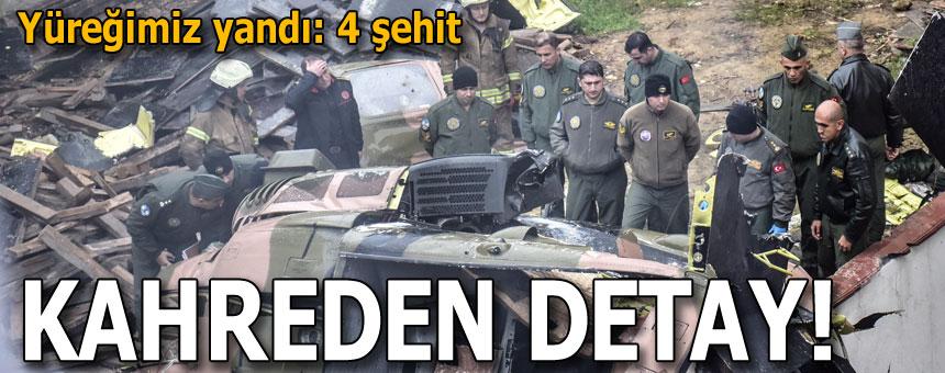 İstanbul'da Askeri Helikopter Düştü! Bakan Akar Acı Haberi Verdi
