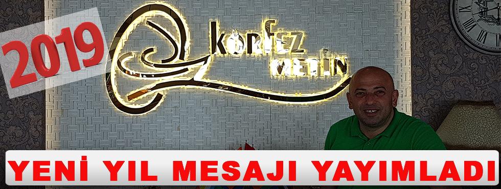 Akçaabatlı İş Adamı Metin Kırandi'den Yılbaşı Mesajı