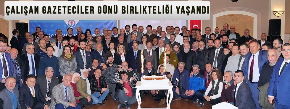 Trabzon'da Çalışan Gazeteciler Günü Birlikteliği Yaşandı