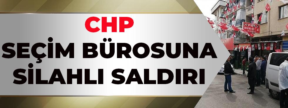 CHP Seçim Bürosuna Silahlı Saldırı,2 Kişi Yaralandı