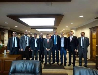 Trabzon Ticaret ve Sanayi Odası'na ziyaret..