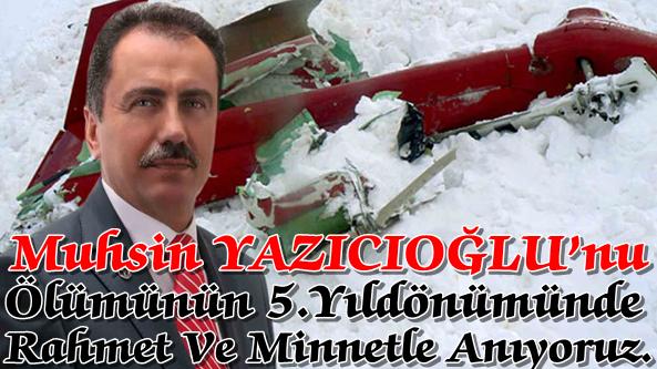 MHP Akçaabat Teşkilatı Muhsin Yazıcıoğlu'nu Unutmadı