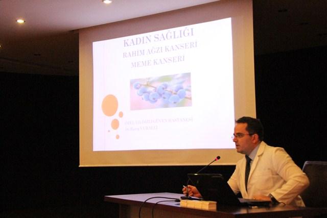 Akçaabat Belediyesi'nden Kadın Sağlığı Ve Hastalıkları Konferansı