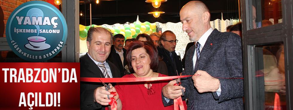 Trabzon Yamaç İşkembe Salonu Açıldı