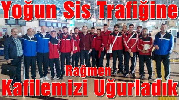 Takımımız İstanbul'da.Beylerbeyi Maçına Hazır
