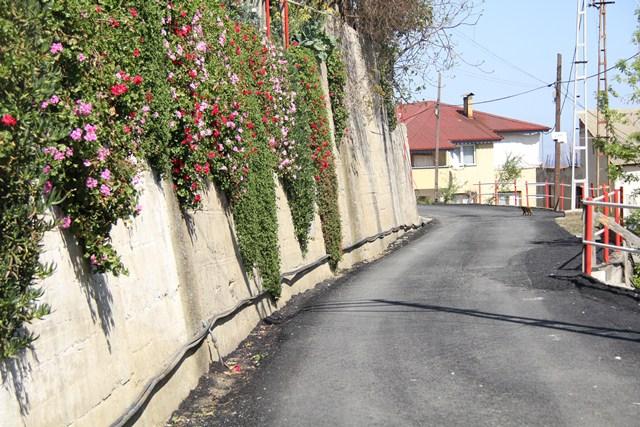 Akçaabat Belediyesi 2014 Yılında 2500 Ton Asfalt Döktü