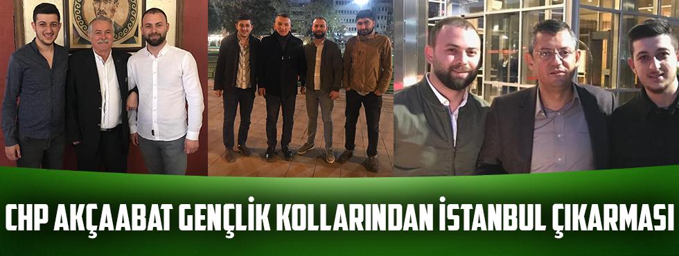 CHP Akçaabat İlçe Gençlik Kollarından İstanbul Çıkarması