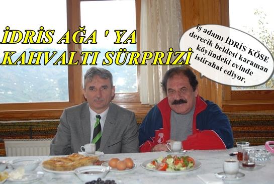 Kültür Müdürü ' nden İdris Ağa ' ya Süpriz Ziyaret