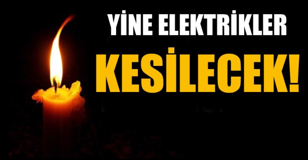 Akçaabat'da Elektrik Kesintisi Uygulanacağı Bildirildi.