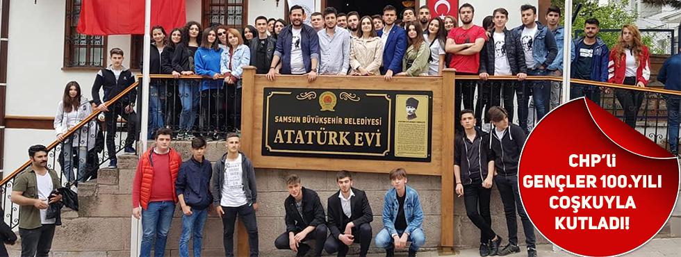 19 Mayıs'ın 100.Yıl Dönümünde Akçaabatlı CHP'liler Samsunda Buluştu!