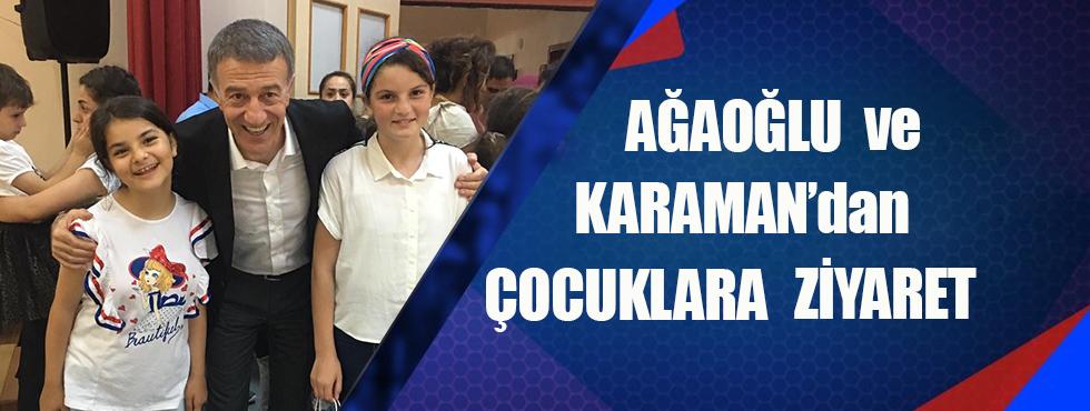 Ağaoğlu Ve Karaman'dan Çocuklara Ziyaret
