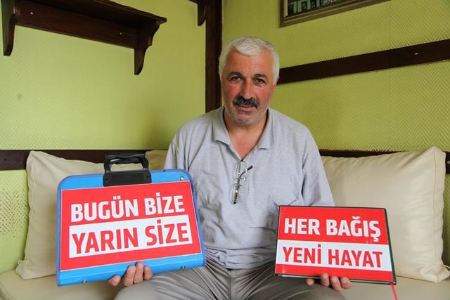 Trabzon'da Kimin Kana İhtiyacı Varsa Onu Arıyor.