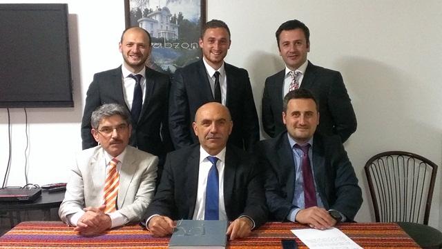 Ankara Akçaabat'lılar Derneğinin Yeni Yönetimi İş Başında
