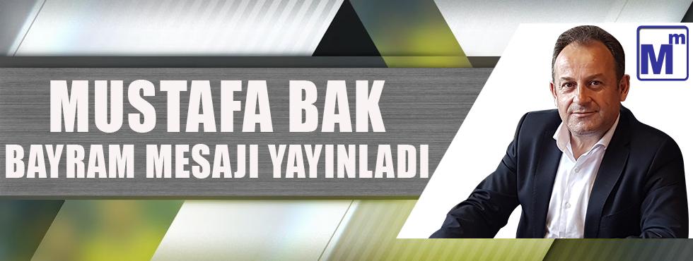 Mustafa Bak Kurban Bayramı Mesajı Yayınladı