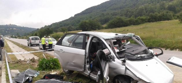 Akçaabat'lı Aile Kazada Yok Oldu