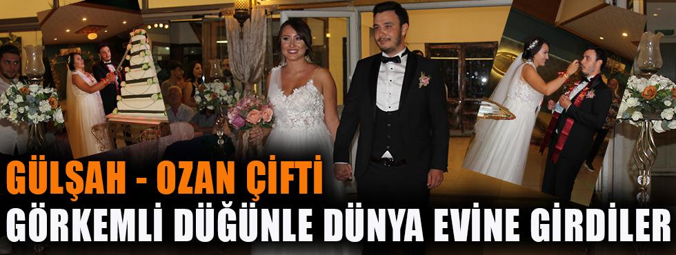 Gülşah & Ozan Çifti Görkemli Düğünle Dünya Evine Girdiler!