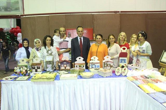 Kitap Fuarı Belediye Başkanı Şefik Türkmen Tarafından Açıldı.