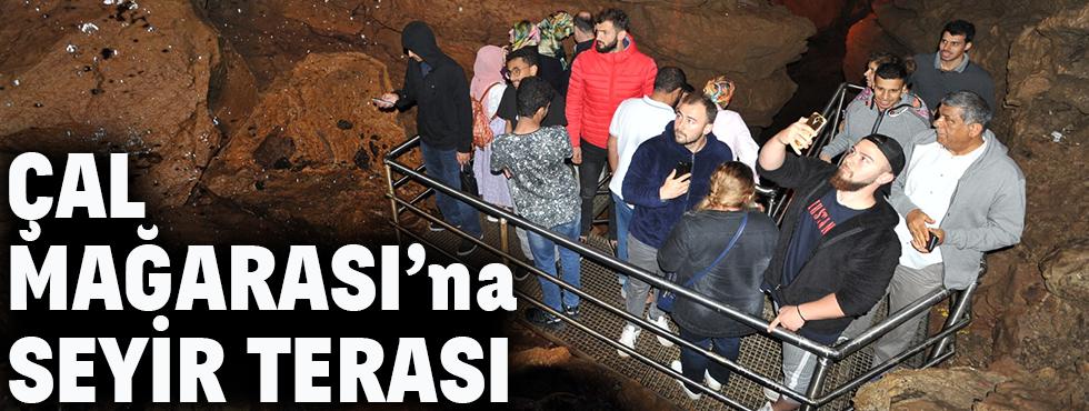Çal Mağarası'na Seyir Terası