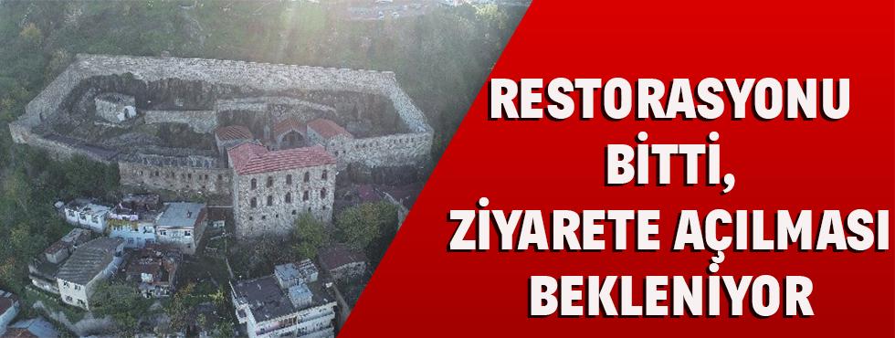 Restorasyonu Bitti, Ziyarete Açılmayı Bekliyor