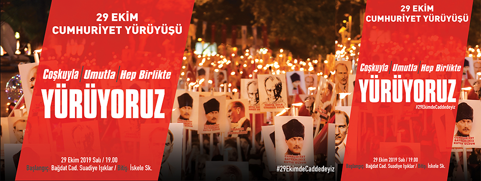 Cumhuriyet'in 96'ıncı Yaşı Kadıköy'de Coşkuyla Kutlanacak