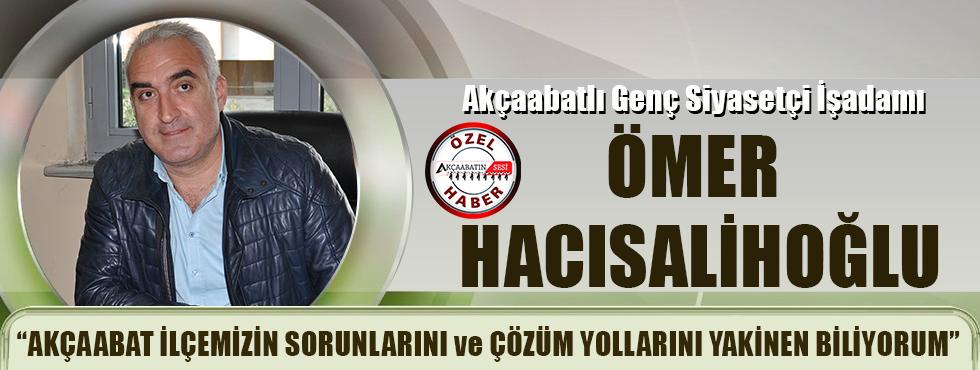 Akçaabatlı Tecrübeli Siyasetçi Ve İşadamı Ömer Hacısalihoğlu, Akçaabatın Sesi'ne Konuştu