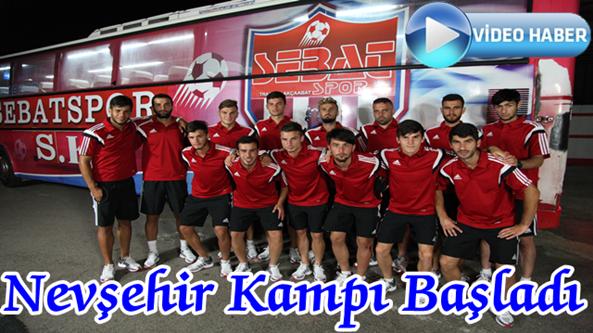 Sebatspor Nevşehir'de